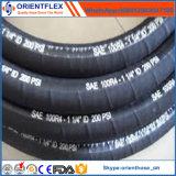 Tuyau en caoutchouc industriel de pétrole hydraulique SAE 100 R4