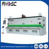 máquina de corte hidráulica do CNC da placa de cobre de 8X2500mm