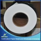 "Roll Retail 64 ""Wide, 328 'Long, 3"" Core, 100GSM Fast Dry Regular Sublimation Papel de transferência de calor na Califórnia dos EUA"