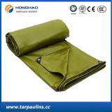 Belüftung-überzogene Polyester-Gewebe-Qualitäts-Plane/Plane für Deckel
