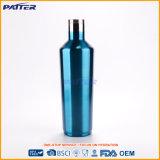 Верхней бутылки ликвора нержавеющей стали способа цены сбывания дешевой горячей подгонянные конструкцией