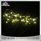 La stringa del collegare di rame LED del PVC illumina gli indicatori luminosi leggiadramente decorativi di natale