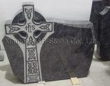 De Grafsteen van het Graniet van de Stijl van Engeland & van Ierland met DwarsOntwerp