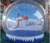 Globo inflable de la nieve del estilo popular para la Navidad