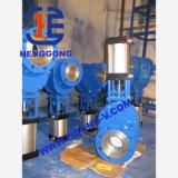 Válvula de porta cerâmica Wcb da flange pneumática de API/DIN/JIS