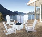 庭のテラスの枝編み細工品/セットされる藤のソファー-屋外の家具(LN-6003)