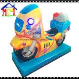 Passeio elétrico Doraemon do Kiddie da criança da máquina de jogo do balanço da fibra de vidro