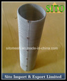 304ステンレス鋼の編まれた金網シリンダーフィルター
