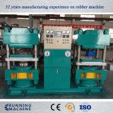 Tipo macchina di gomma della colonna della pressa del duplex esportata in Turchia