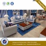 Sofa moderne de bureau de divan de cuir véritable de meubles de bureau (HX-SL033)