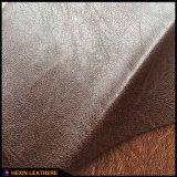 PU sintetizada ignífuga Hx-F1730 de cuero de los muebles