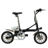 Bewegliches gefaltetes elektrisches E-Fahrrad mit LED-Lampe