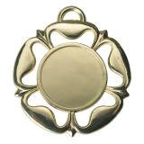 昇華ブランクのためのカスタマイズされた最も新しい銅の赤い金属のハングの円形浮彫り