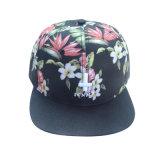 Шлем Snapback полиэфира 6 панелей изготовленный на заказ крышки флористический