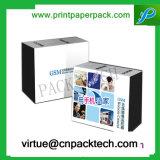 Rectángulo de regalo modificado para requisitos particulares impresión Wearproof de la cartulina del color de la alta calidad