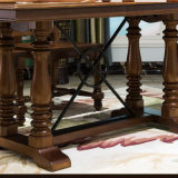 أسلوب [أمريكن] [دين تبل] خشبيّة طويلة لأنّ أثاث لازم بيتيّ ([أس835])