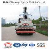 plate-forme de fonctionnement aérienne montée par camion de 16m Dongfeng