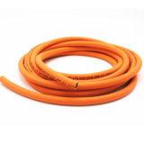 """1/4 """" di tubo flessibile Braided di tessitura ad alta resistenza di superficie liscio del gas della fibra di pollice"""
