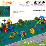 Speelplaats van de School van het kind de Openlucht Pre, het PeuterSpeelgoed van de Speelplaats voor Kinderen