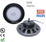 La UL más nueva aprobó 5 años de la garantía de Philips SMD 120W de altas luces de la bahía del UFO LED