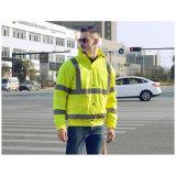 Куртка безопасности высокого Workwear видимости отражательная