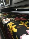 1.8mの大きいフォーマットデジタルは4 Epson 5113の印字ヘッドのための衣服の織物のベルト式印書装置DTGプリンターに指示する