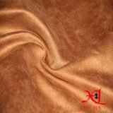 Polyester-Mikroveloursleder-Gewebe 100% für Tücher/Schuhe/Sofa