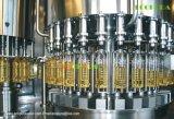 自動びん詰めにされたオイル満ちるキャッピング機械(料理油の注入口)
