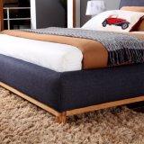 Mobilia moderna dell'insieme di camera da letto del salone della mobilia dell'hotel della casa della base di sofà del panno di Yacquard delle lane, Fb3076