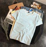 Équipement rond d'hommes de chemise de chemise de circuit de T-shirt de collet de modèle d'OEM de chemise neuve d'hommes