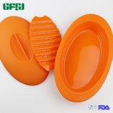 Vapore dei pesci del silicone del commestibile di Microwaveable del fornitore del Cookware del silicone con il cassetto/inserto