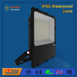 Luz de inundación al aire libre de 240W SMD 3030 transparentes LED
