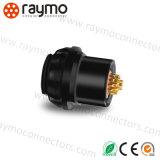 Raymo Fischers M14 12pin делает электрический соединитель водостотьким IP 68 разъема в 1031 серии