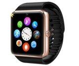 腕時計のスマートな腕時計のアンドロイドのためのスマートな電話HDタッチ画面の人間の特徴をもつ腕時計