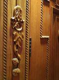 أسلوب [إيوروبن] باب تجاريّة داخليّة خشبيّة