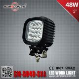 E-MARK genehmigte 5 Auto-fahrende Arbeits-Licht des Zoll-48W LED