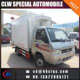 De Mini1ton Meat Refrigerator Van Truck Refrigerarted Vrachtwagen van Dongfeng