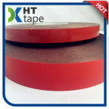Rotes Zwischenlage-Doppeltes versah Acrylband mit Seiten