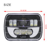 "LED6457 5X7 ""/6X7 Inch 90W Projector LED Sealed Beam Headlight Assembly met Angel Eyes DRL voor Jeep Wrangler Yj Cherokee Xj Trucks"