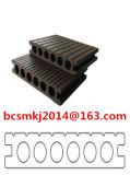 Decking composito di plastica di legno decorativo esterno con lo SGS 140*25