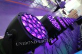 Наивысшая мощность RGBW 4 освещения 19*15W СИД в 1 свете светлого этапа РАВЕНСТВА Beeye