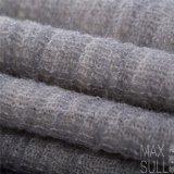 Tessuti Mixed delle lane di /Cotton /Acrylic delle lane per la stagione di autunno nel Gray, mano di Sotf