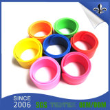 Wristband su ordinazione impermeabile di schiaffo stampato Silkscreen