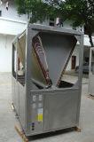 Chauffage et refroidissement air-eau commerciaux de pompe à chaleur