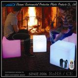 조명된 관 LED 가구 의자