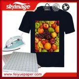 Fast Dry Tamanho A4 T-shirt escuro Papel para tecido 100% algodão