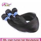Mínimo que verte o cabelo indiano cru natural da cor 100%