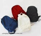 Frauen-Mädchen-Rucksack-Segeltuch-Beutel-verschiedener Farben-Beutel-Arbeitsweg-Rucksack-im Freienbeutel-Form-Rucksack