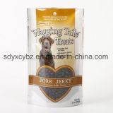 Levar in piedi in su il sacchetto a chiusura lampo di imballaggio di plastica per l'alimento dell'animale domestico/gatto/cane/uccello