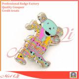 도매 높은 Polished 단단한 사기질 접어젖힌 옷깃 Pin